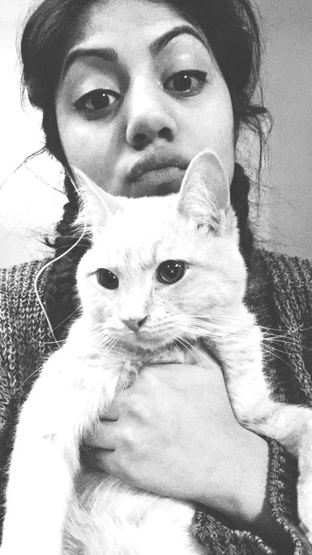 Am I tumblr cute yet Cat♡ black&white Enjoying Life That's Me Kittylover