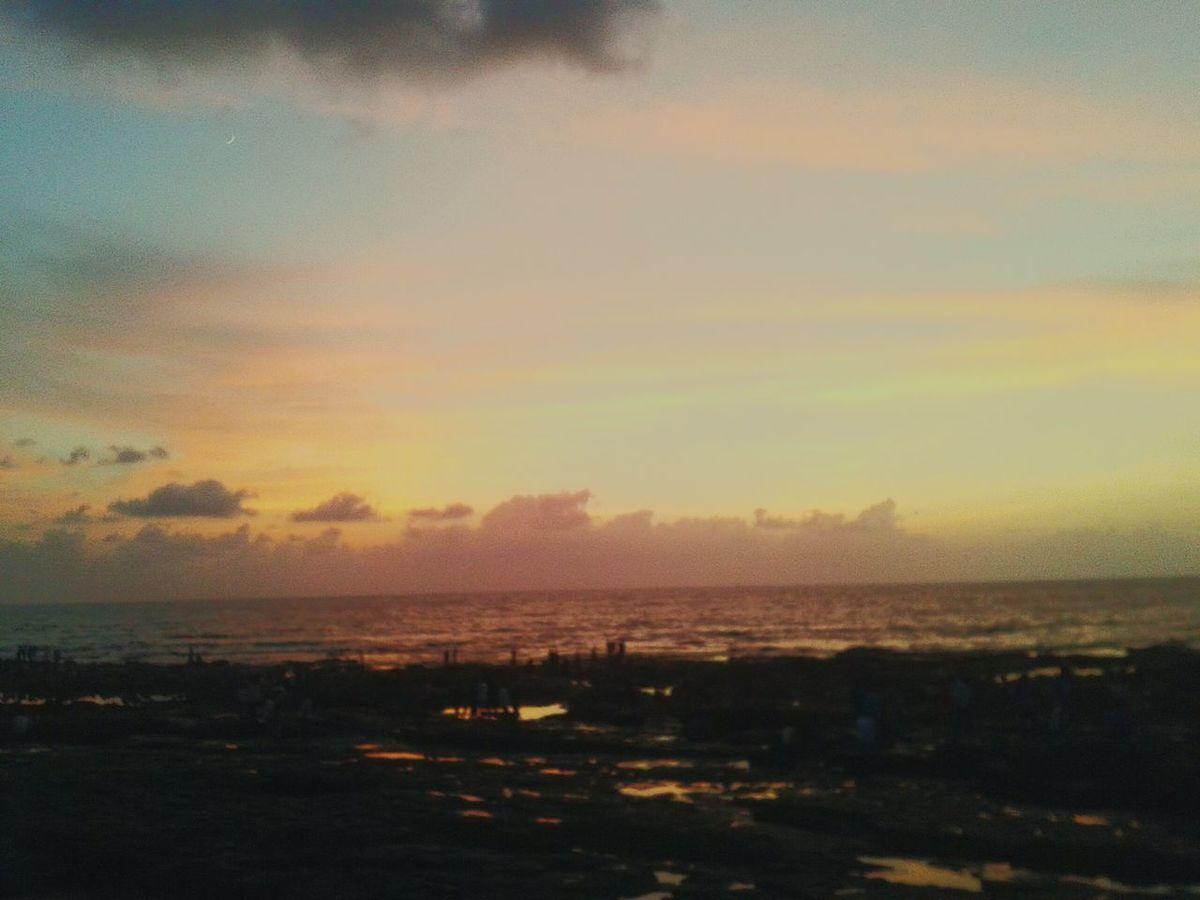 Beautiful Sunset Enjoying Life Hanging Out Relaxing Keep Loving