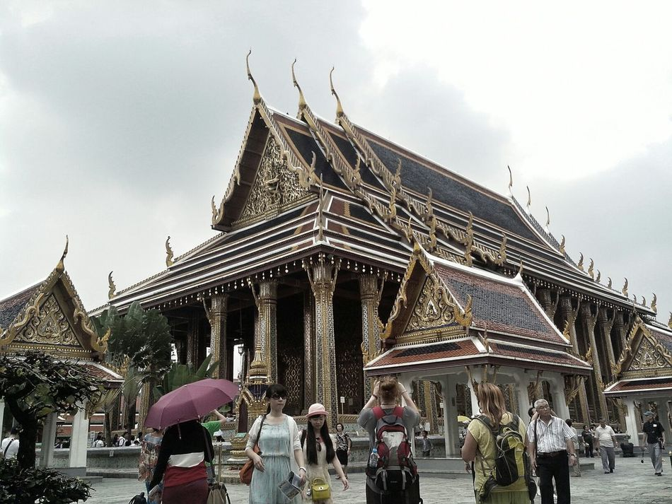Wandering Around Aimlessly Ancient Architecture Thailand_allshots A Day In Bangkok