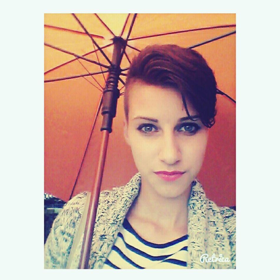Rain Umbrella Orange