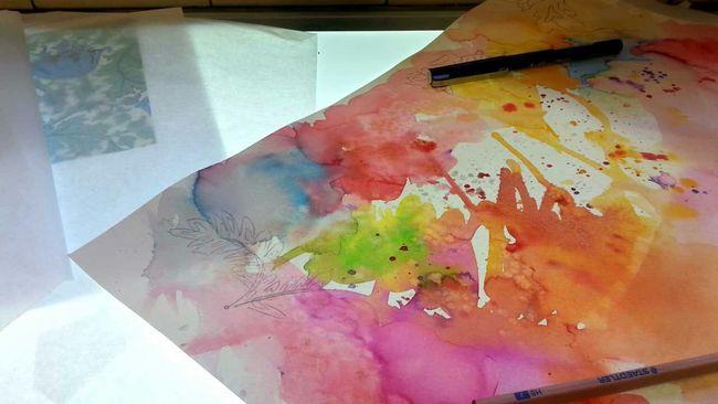 Art Water Colour William Morris Patterns Drawing Taking Photos