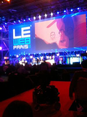 Hanging out at LeWeb by Holger Dieterich
