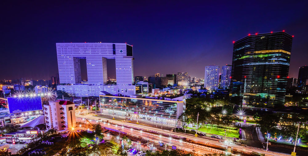 Amazing architecture Bangkok Landmark Bangkok Thailand. Amazing Thailand Architecture Building Exterior Built Structure City City Life Cityscape Downtown District Elephant Building High Angle View Illuminated Long Exposure Night Nikonphotography Outdoors Sky Skyscraper Travel Destinations