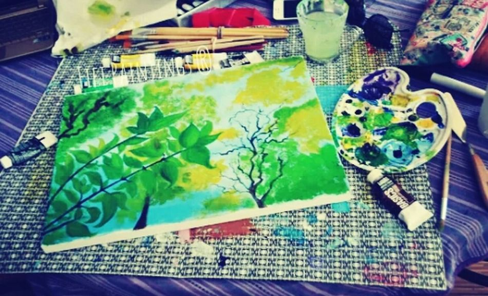 Art Painting Mother Nature Painting