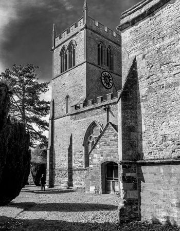 All Saints Church, Cottesbrooke, Northamptonshire Northamptonshire Architecture Black And White Chuches