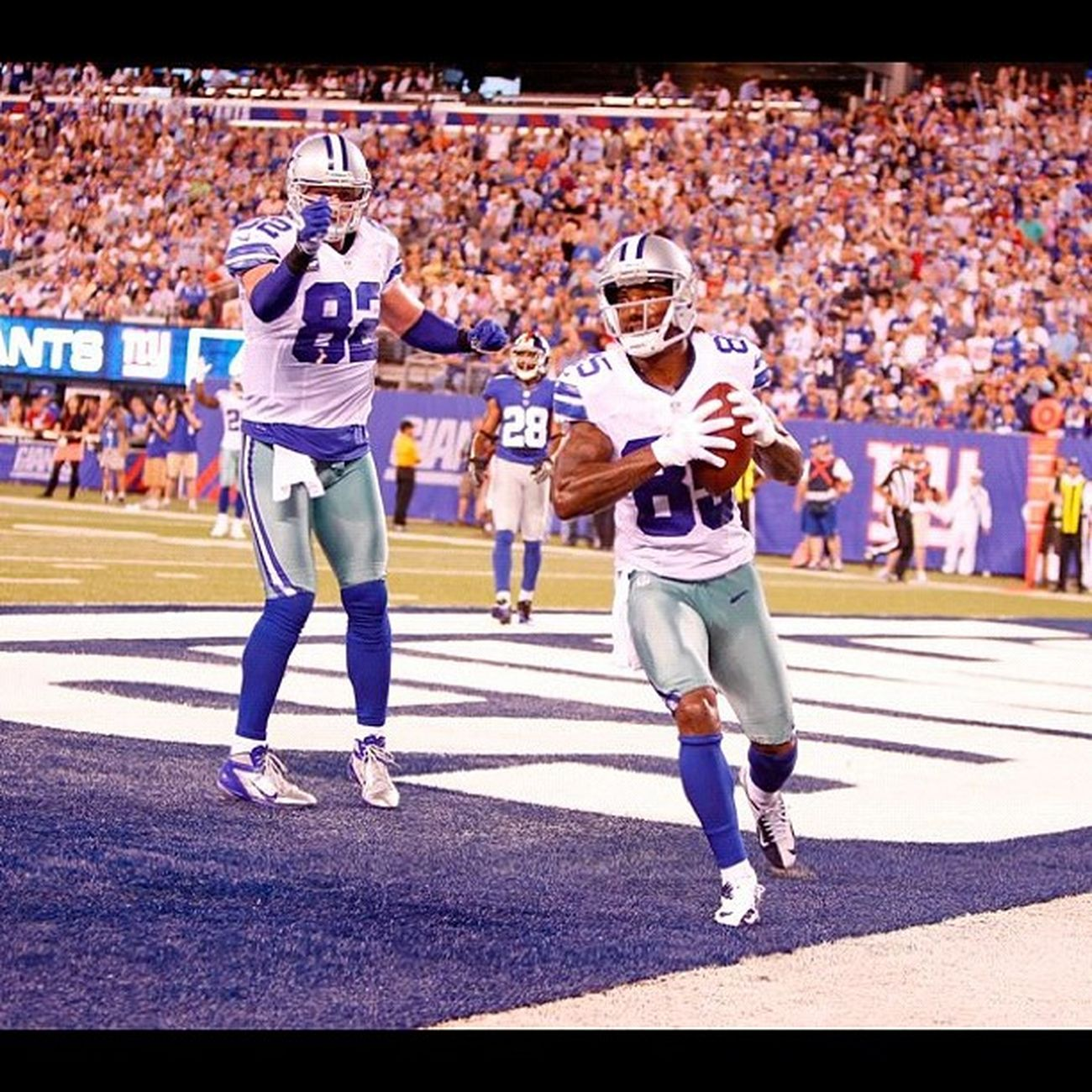 We beat the Superbowl Champs 24 to 17 and started off the season 1-0...HowBoutThemCowboys !!! TeamDallas