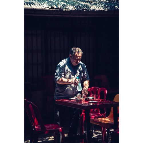Old man worked in an old tea cafe in shahsavar. Real People Lifestyles People Nikon Nikonphotography Daily Life Dailyphoto Dailylook Cafe Aks Akkasi Photography Natgeotravel Natgeoyourshot The Street Photographer Streetphotography The Portraitist