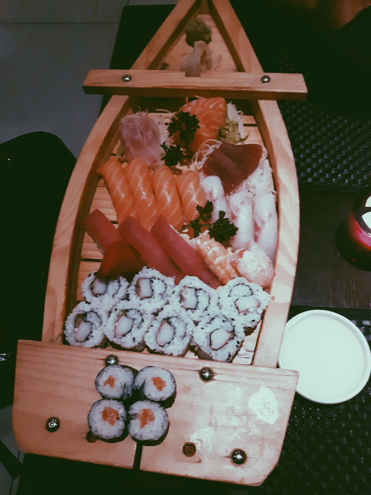 Sushi Lovers 💗 Food Day EyeEm Gallery Photo Eyeemphoto Photography Lifestyles Everywhere Street Real People Sushi Lover Sushi Treviso, Italy Couple Relationship Freshness Indoors  No People