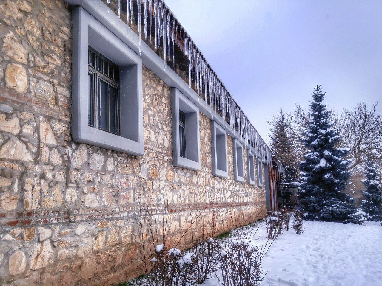 Winter in Anadolu University ❄ However, it's not colder than people. 😏 Winter Anadoluuniversitesi Eskişehir Turkey2017 Mobilephotography Lgg4photography EyeEm Best Shots Eyeemphotography EyeEmTurkey