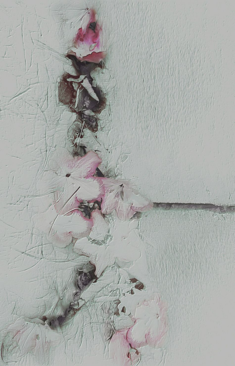 the cracks which make you. Hello World Melancholy EyeEm Best Edits Abstract Art Flower Collection EyeEm Nature Lover Abstract Flowers Art GothicStyle Darkside WhiteCollection Minimalism Texture My Soul Is Stained...