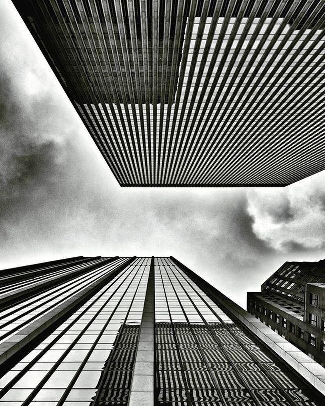 Just looking Up Newyork NYC Newyorkcity Manhattan Lookingup Up Architecture Archilovers Building Buildings Skyscraper Sky Clouds Cloudporn Travel Travelgram Trip Blackandwhite Bw Iloveny Ilovenyc Newyorkphoto Instacool Instanewyork Mynyc bigapple thebigapple