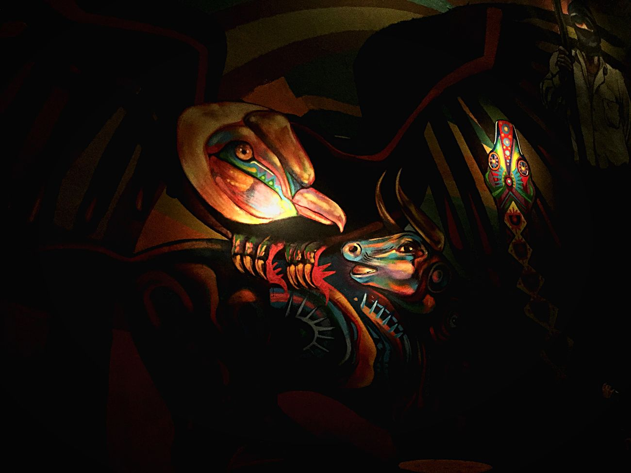 Quetzal Mural Murales