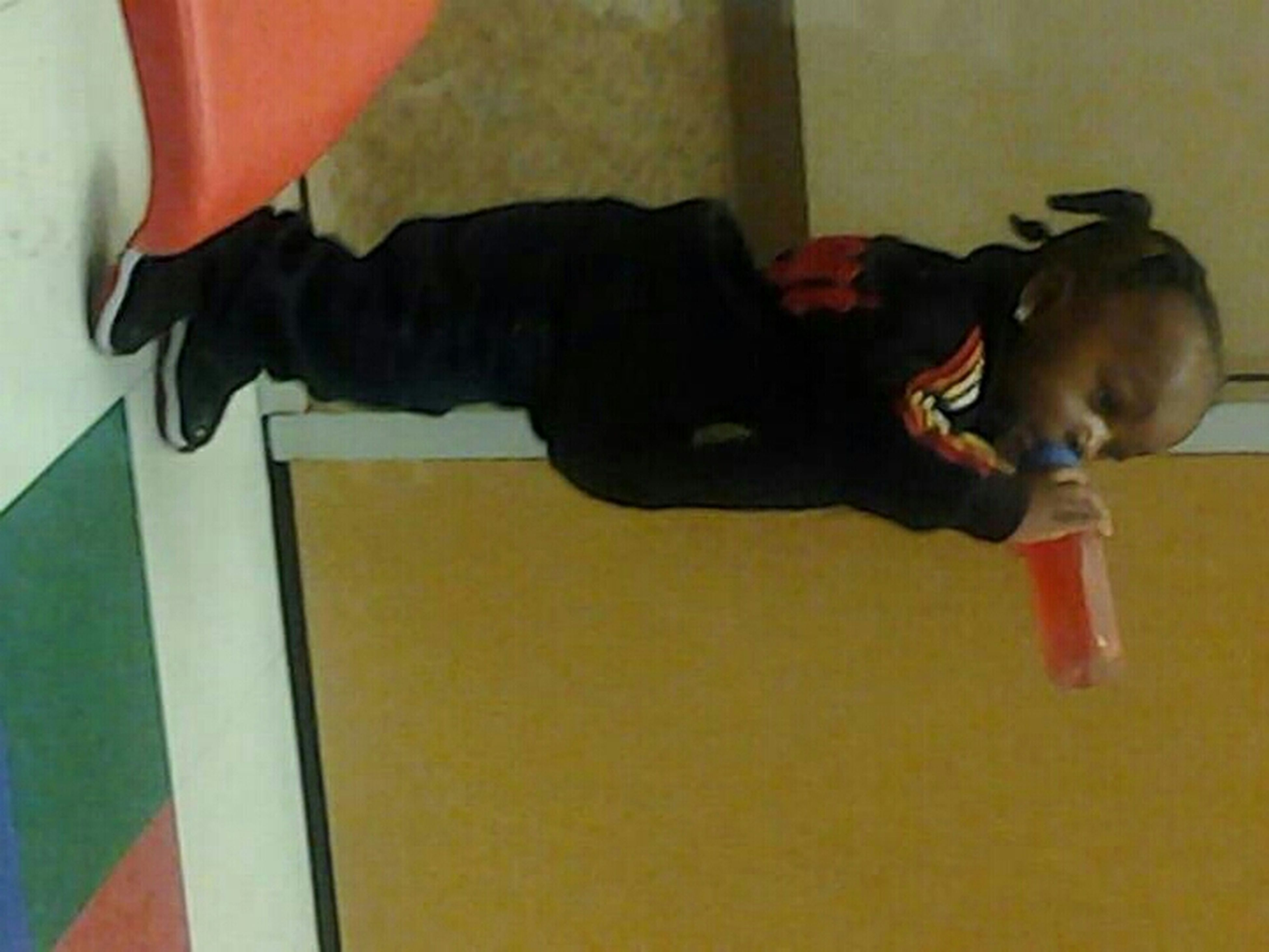 My Lil One Sippin Dat Oil At A Early Age Lol