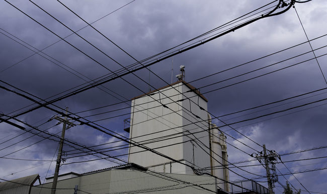 Hiding blue Blue Cable Cloud Cloud - Sky Cloudy Complexity Connection Day Electricity  Electricity Pylon Hope Low Angle View Nature No People Outdoors Power Cable Power Line  Power Supply Quest Rei Sky Tokyo