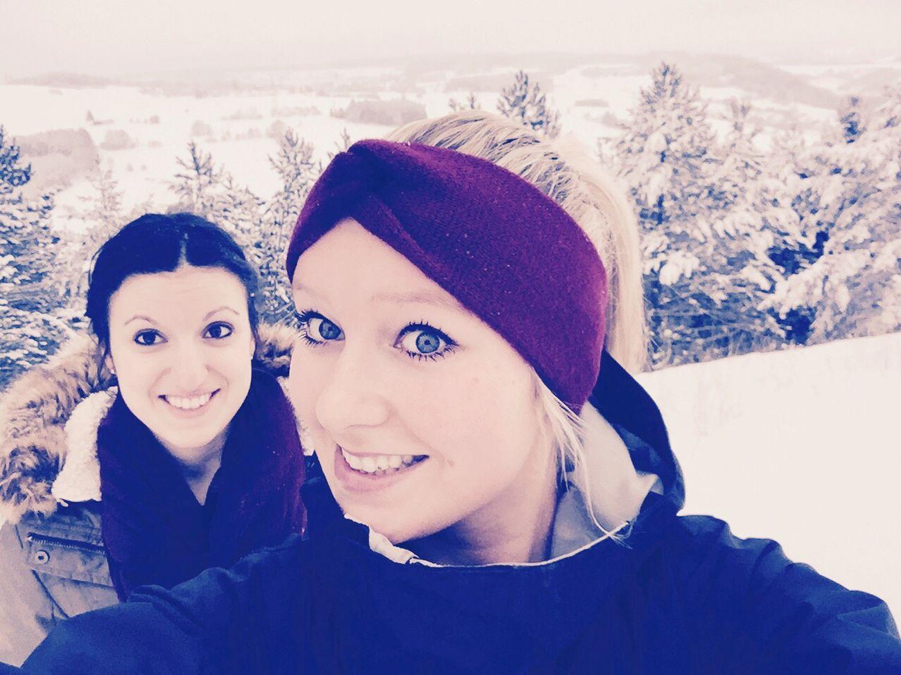 Wintertime Snow ❄ Friends ❤ Foreva ?❤️❄️⛄️✌️