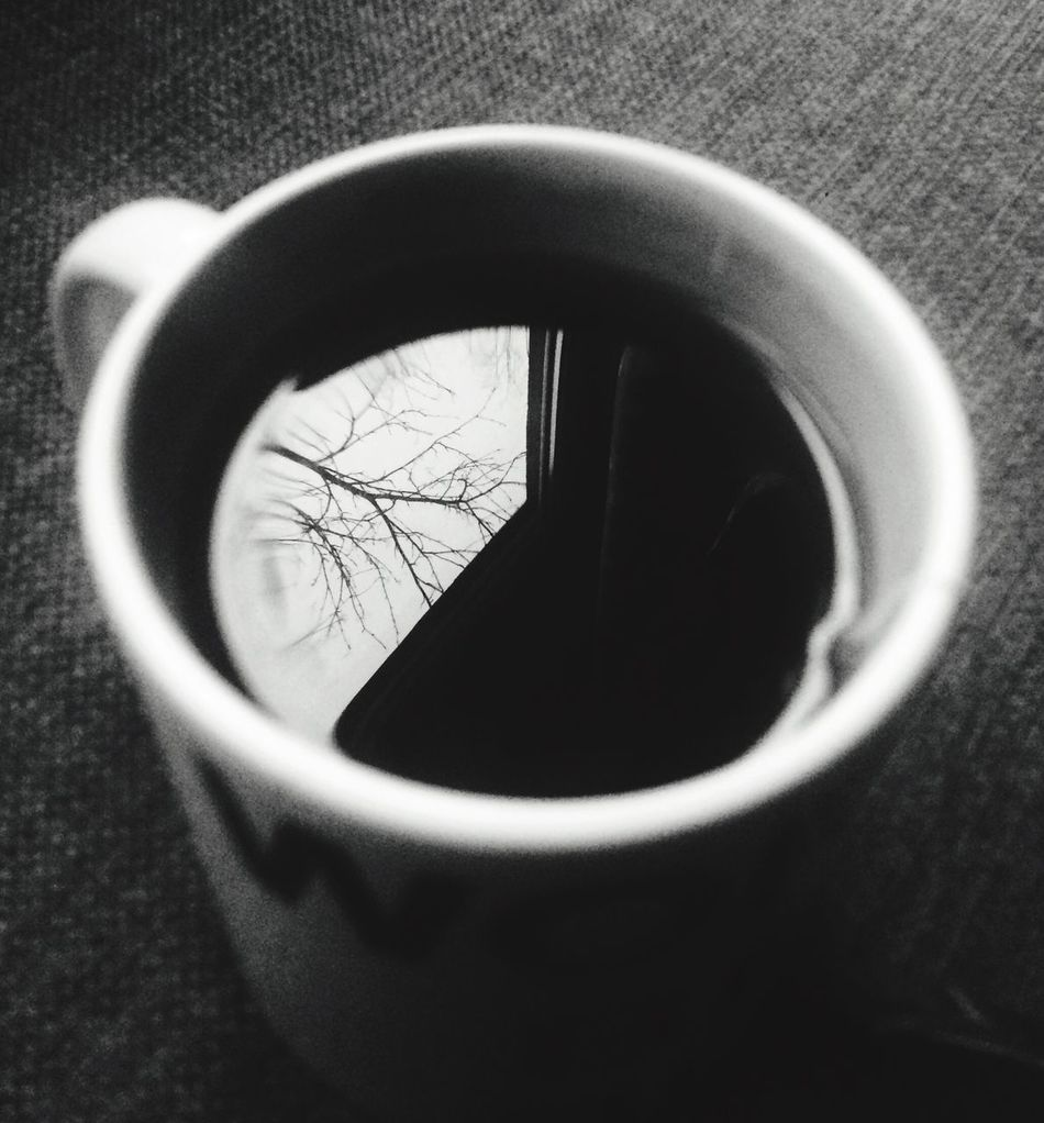 Cup Mug Wolds Best Boss Reflection Trees Tea Water Morning FreshClose-up Indoors  Day No People