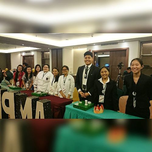 The last three standing groups for the Championship Round . . . The 41st Young Hoteliers Exposition: SHRIM Picture Puzzle Competition . . . Battleofthebrains YHE Younghoteliersexposition Benilde csb shrim akic themanansala