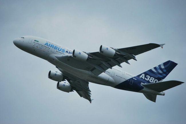 Airbus Airbus A380 A380 Testflight Flugzeug Flugzeuge Flugtag Flugschau Flughafen