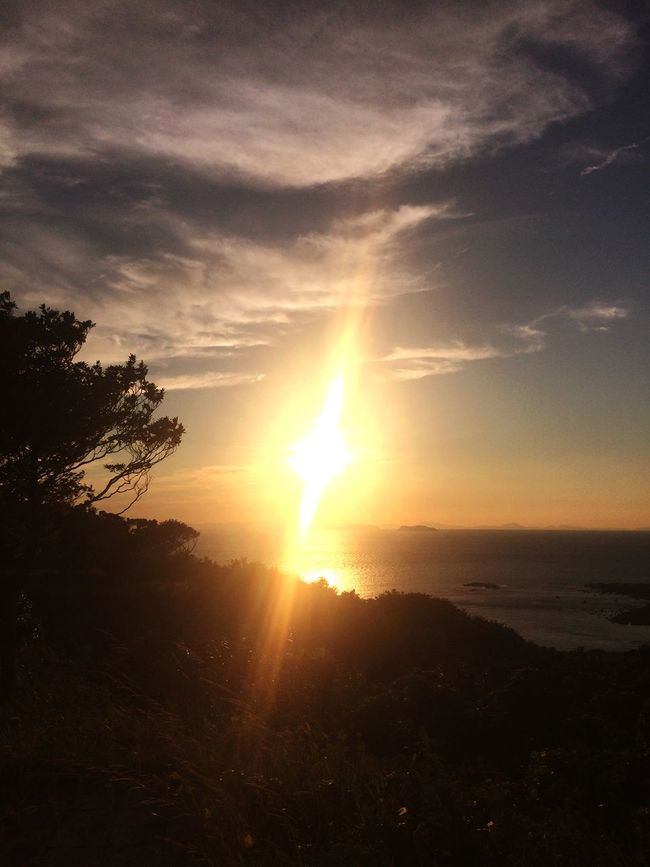 🌅Today's sunset at Sakito Nagasaki