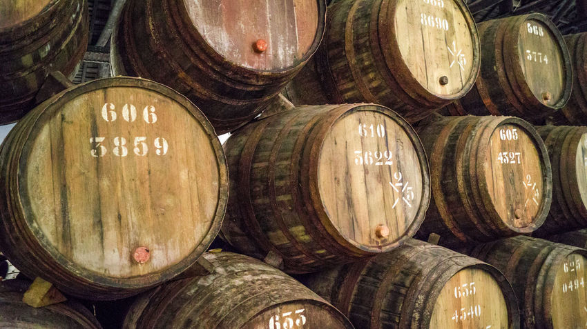 Douro  Industry Oporto, Portugal Porto Whiskey And Cigars Barrel Brewing Fermentation Fermentation Vat Fortified Wine Indoors  No People Oak Port Portrait Wine Making Winery