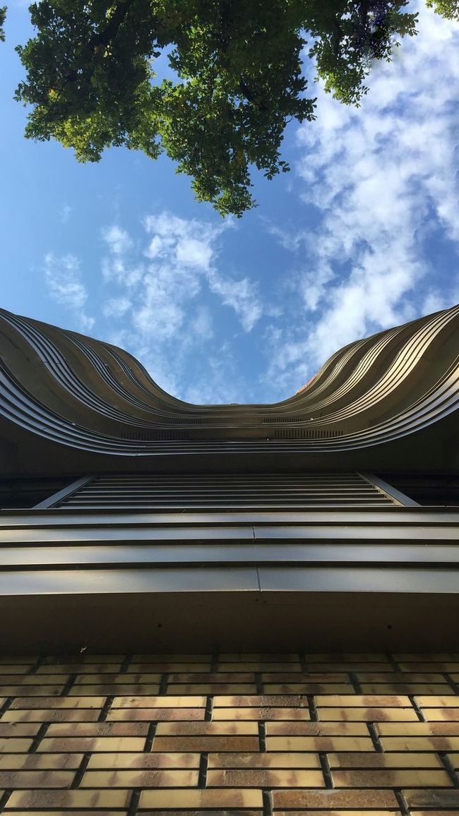 Architecture Building Taking Photos EE Love Connection! Streetphotography Street Photography Eye4photography  The Street Photographer - 2015 EyeEm Awards Trees Clouds And Sky