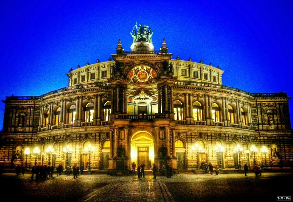 HDR Semperoper Dresden