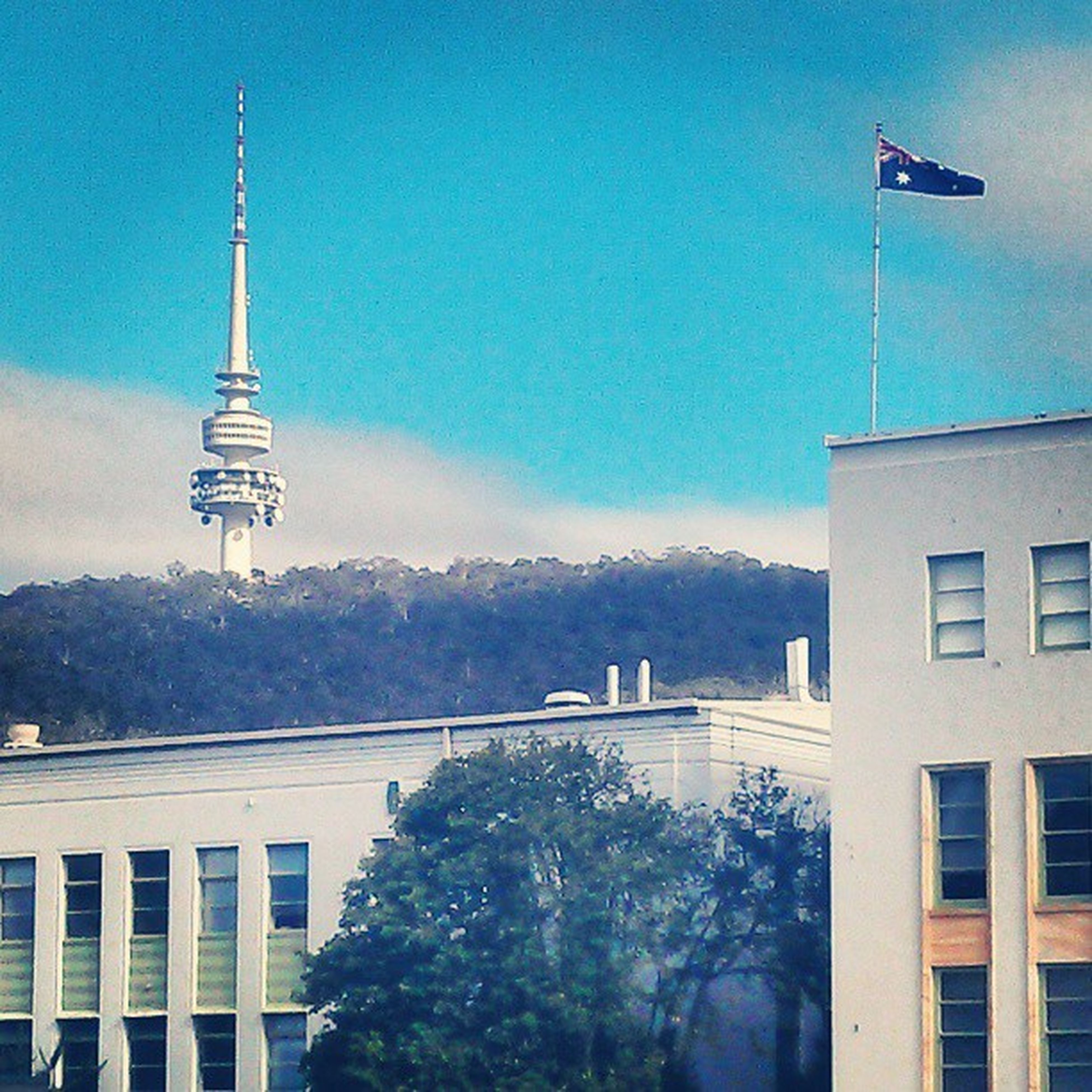 Flying the flag high for Australian Science . A nice morning at the Csiro Biodiversity conference