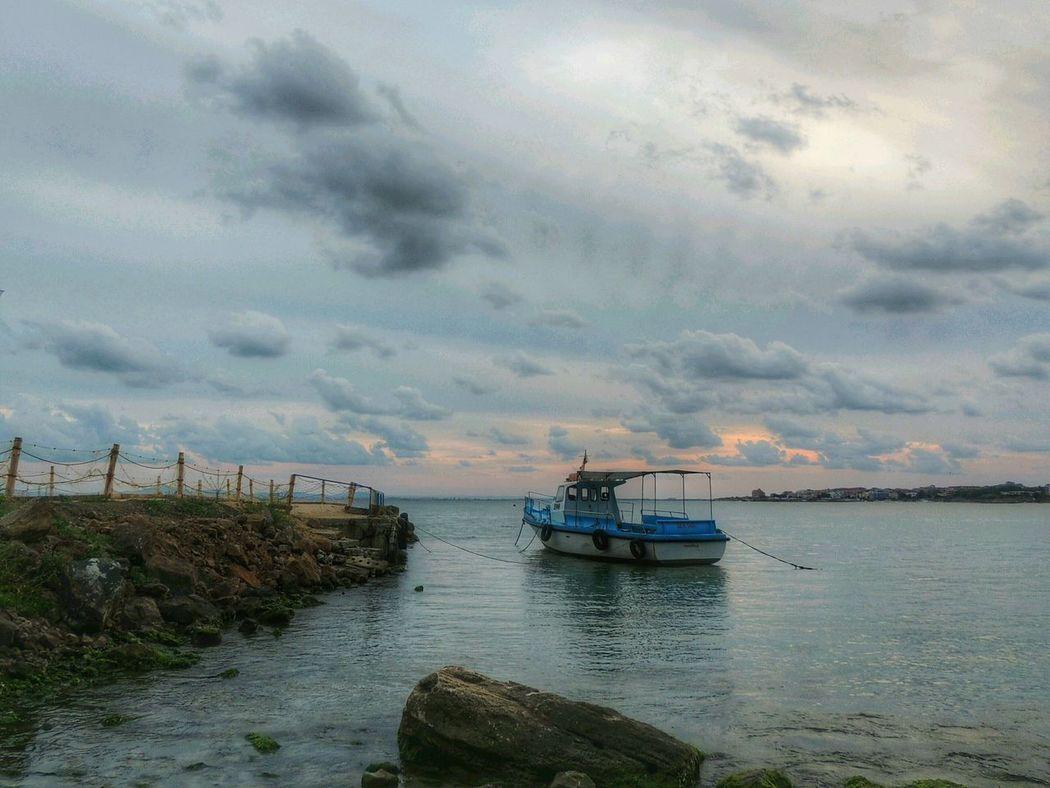 Sea Sea And Sky Море небо облака Light Evening Sky Nikoncamera Sky_collection Sea View