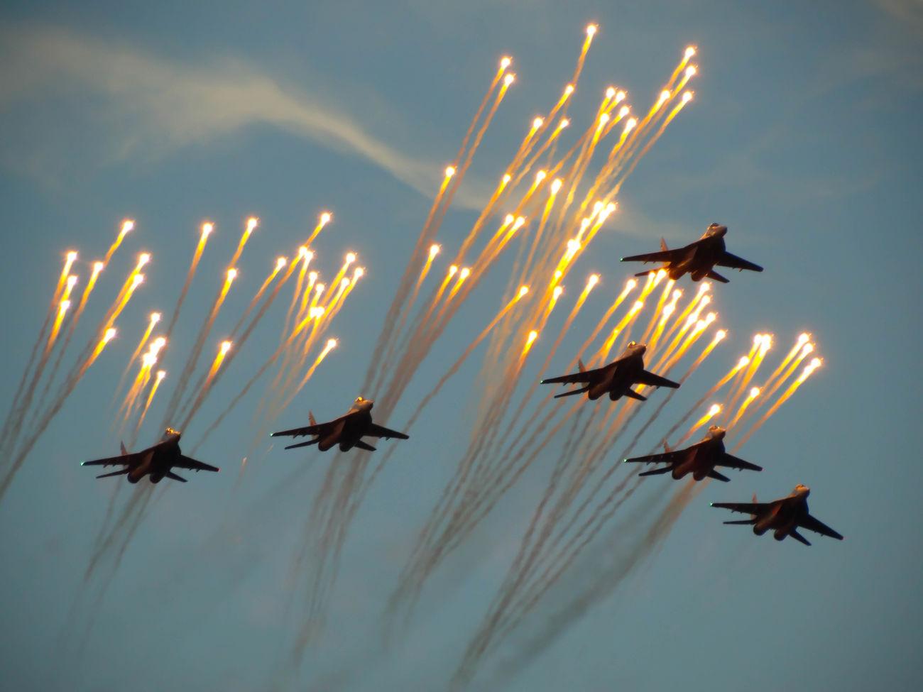 Минск парад Самолёты