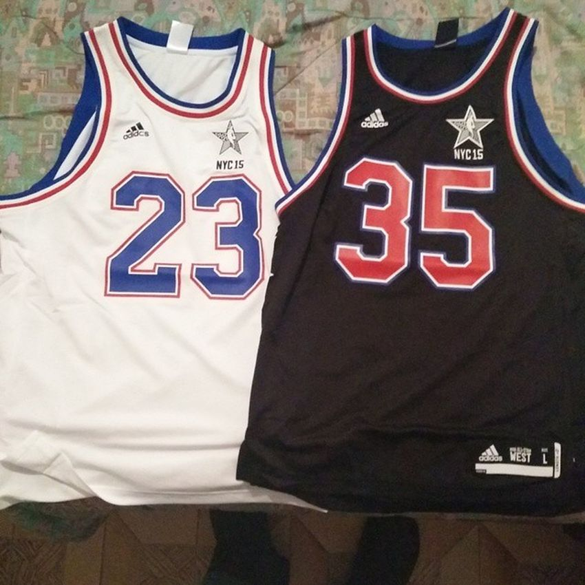 I due nuovi arrivi NBA Adidas AllStarGame