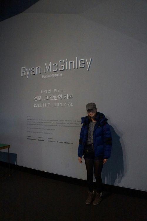 즐거웠던 시간~~^^ 라이언맥긴리 대림미술관 사진전  Visiting Museum