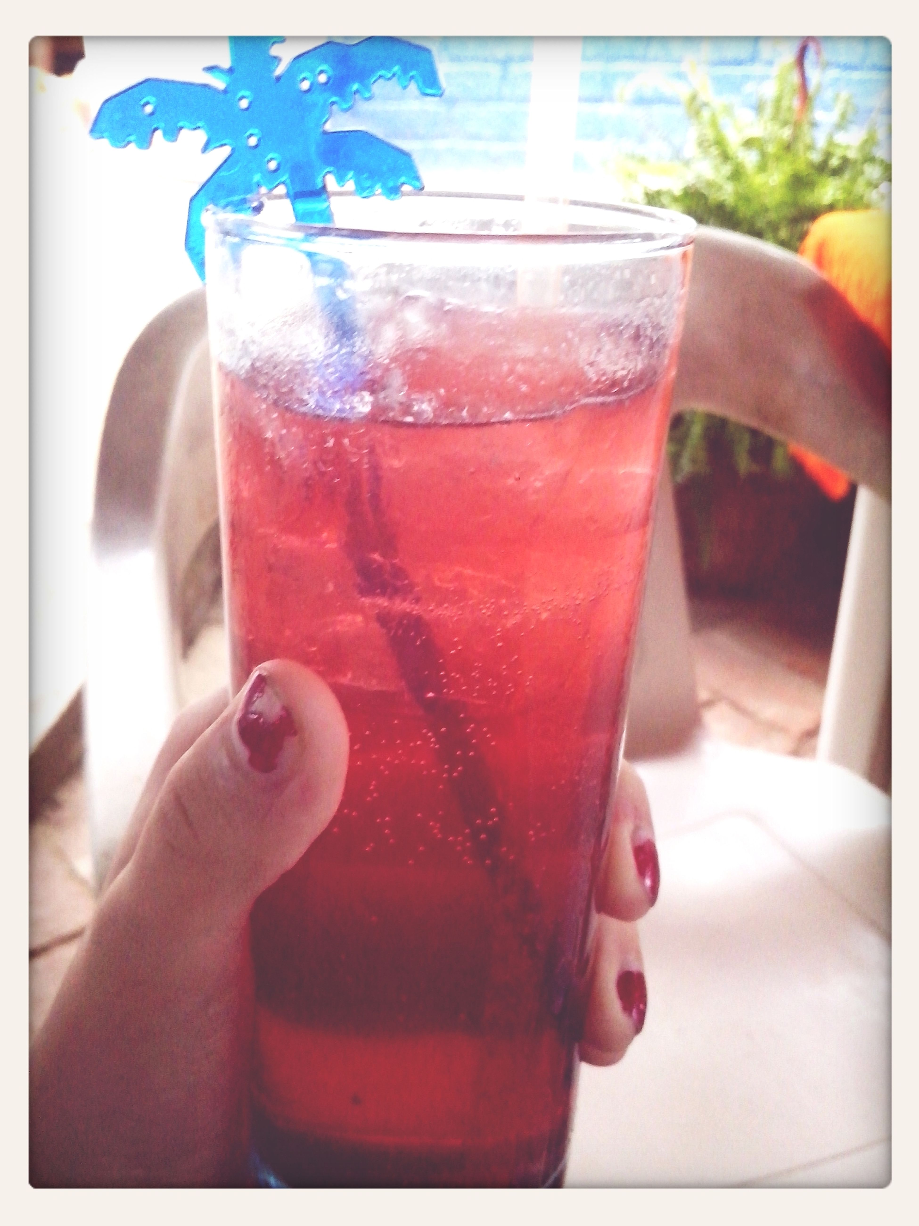 Drink Shelley Temple Refreshing Delicious