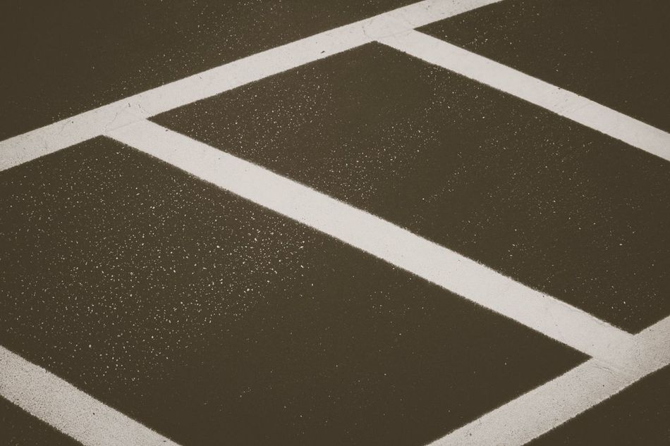 Angles Road Marking White Line White Color Dividing Line Road High Angle View Outdoors No People Day Guidance Transportation Textured  LINE Close-up Crosswalk Blackandwhite Black And White Black & White Angle Diagonal Lines Diagonal Pattern