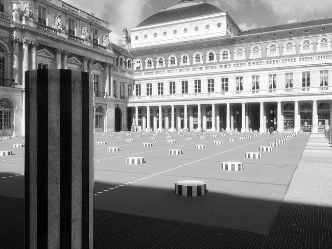 Behind the Palais Royal, Paris Palaisroyal