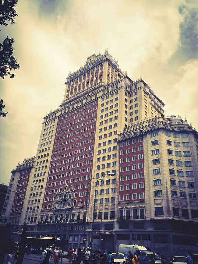 Edificio España. Recientemente comprado