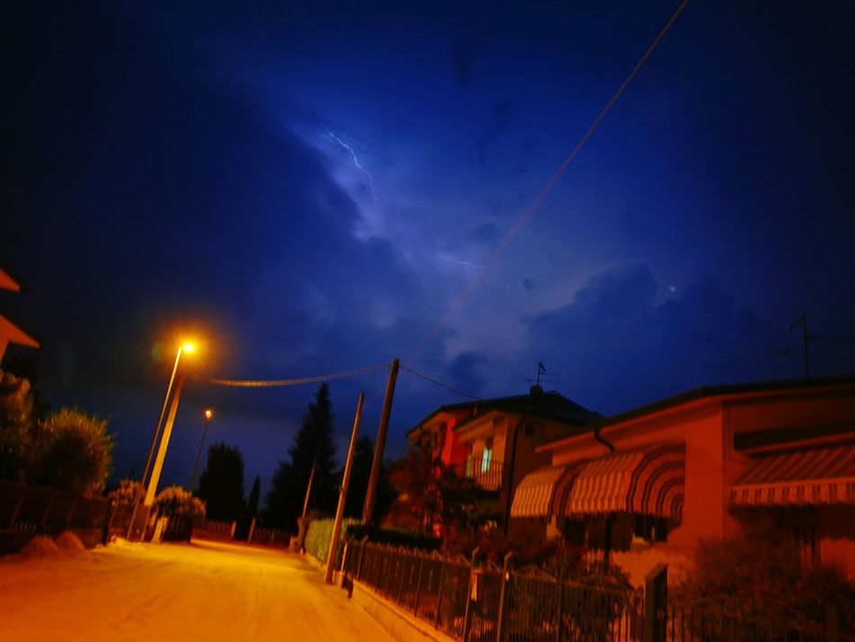 Lighting and Thunder Summer Nightphotography HuaweiP9