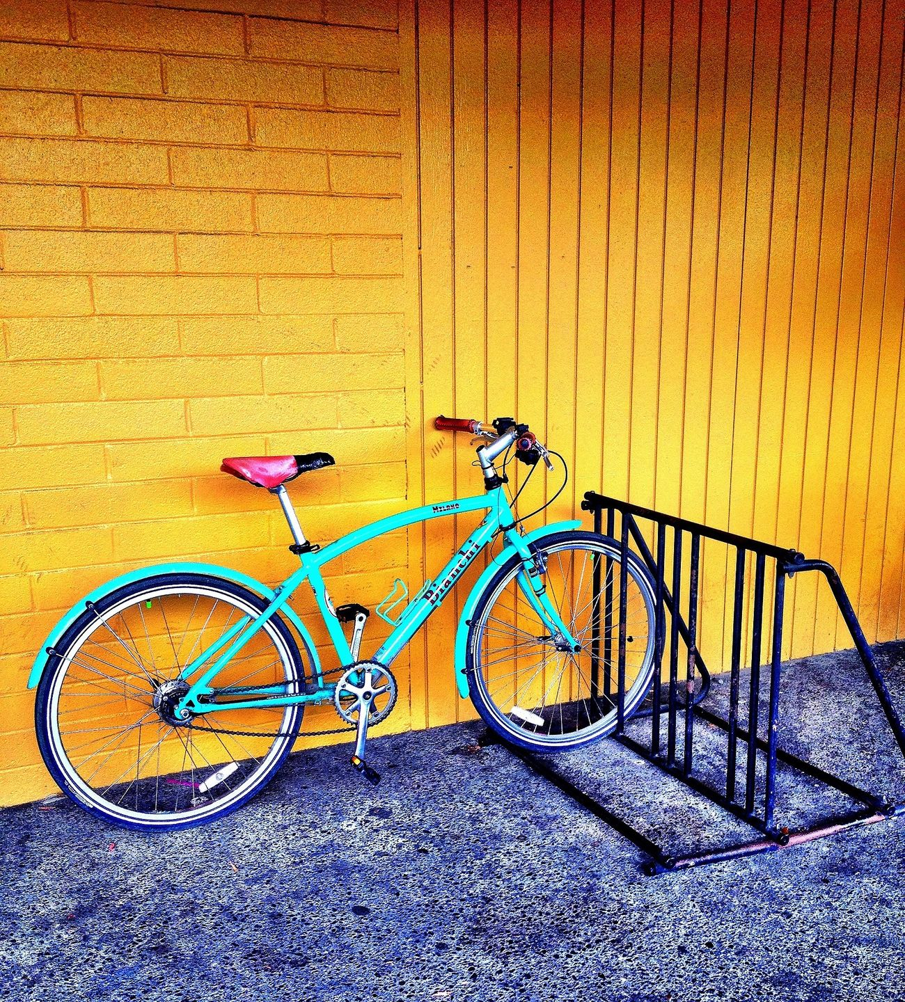 ready to ride HDR Colors Bikes Streetphotography