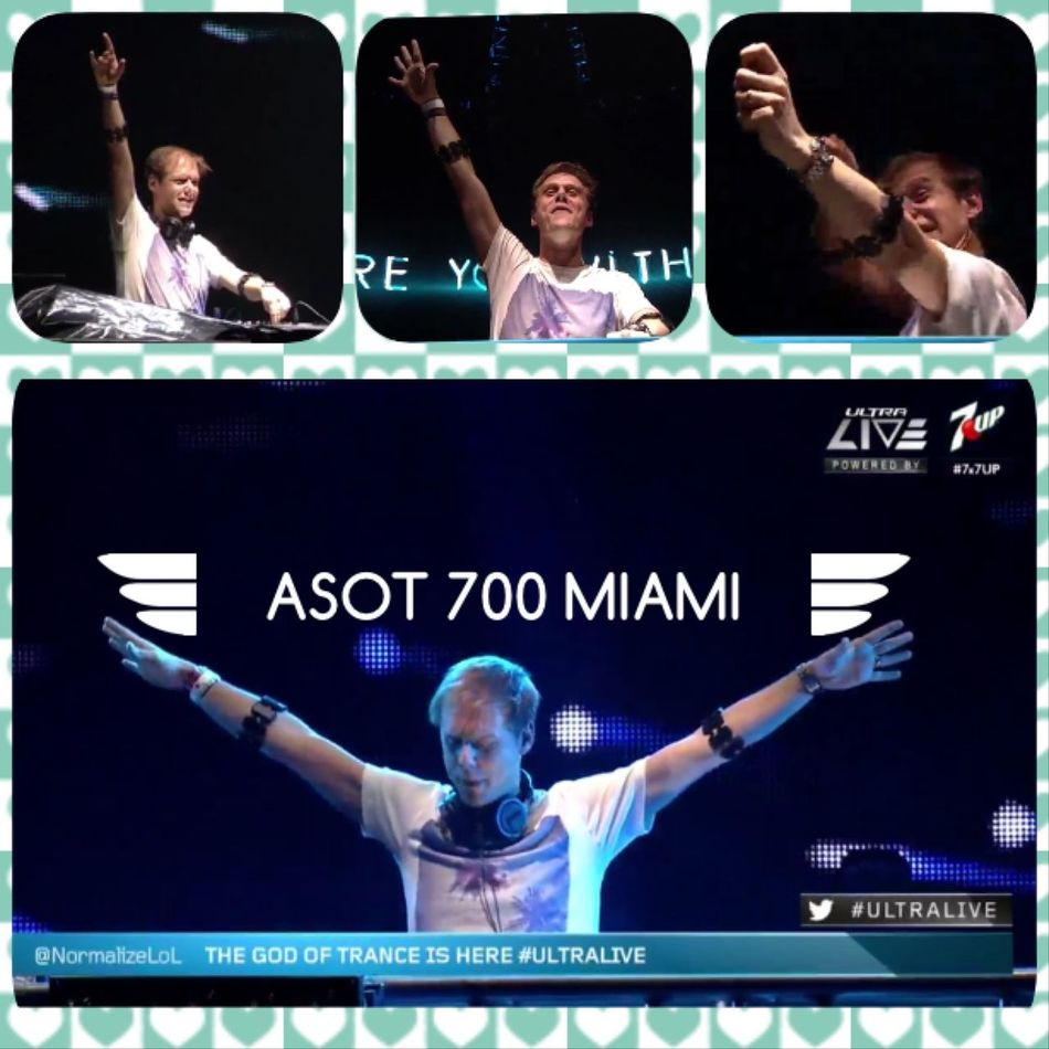 Together in A State Of Trance Special Ultra Music Festival Miami 💞 ASOT 700 Miami #ULTRALIVE #Ultra2015 💖