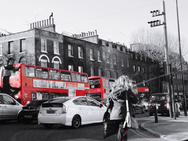 In the streets of london by me