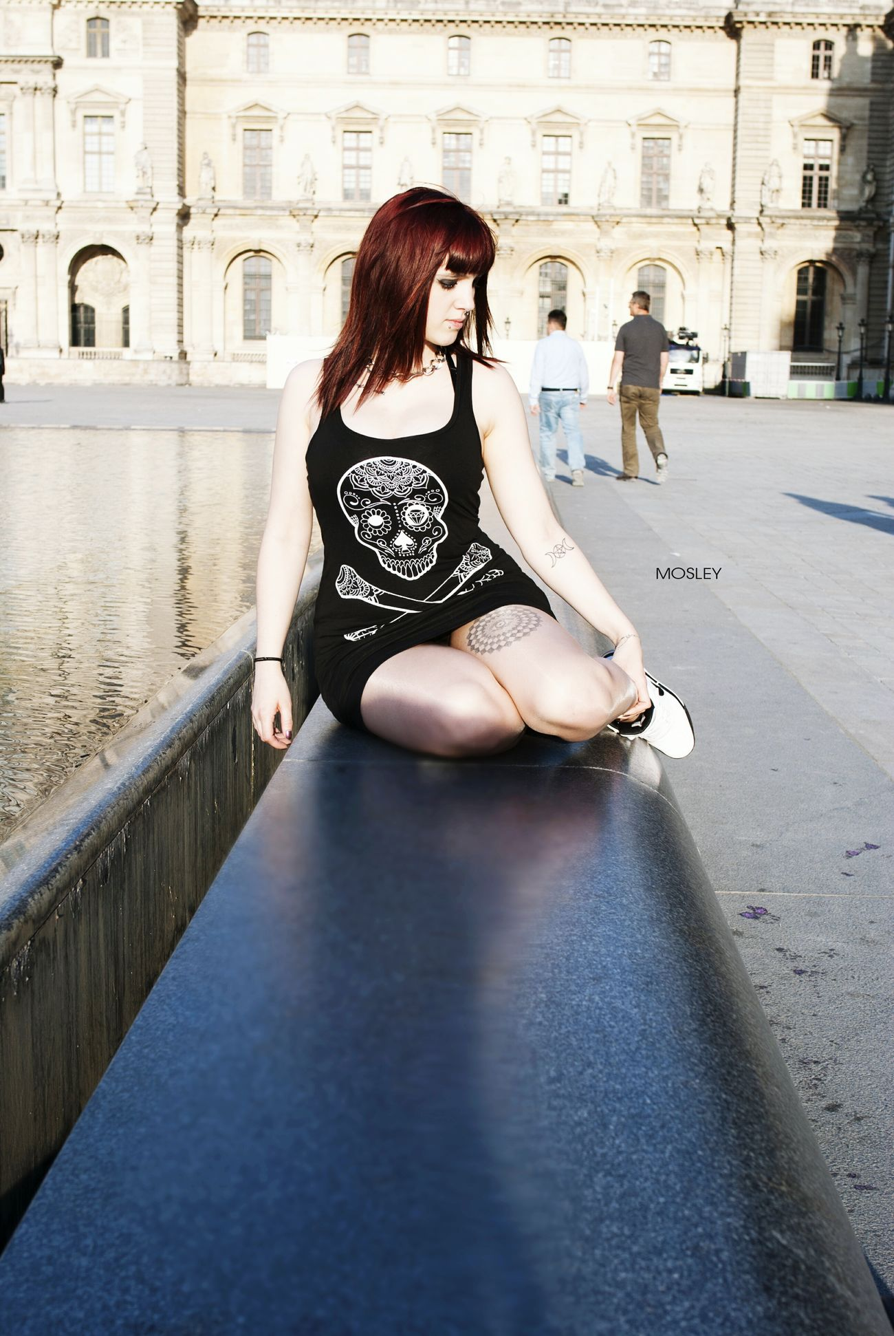 Paris Modeling Model Hello World Inked Girl Red Hair Frenchmodel Relaxing That's Me Photography
