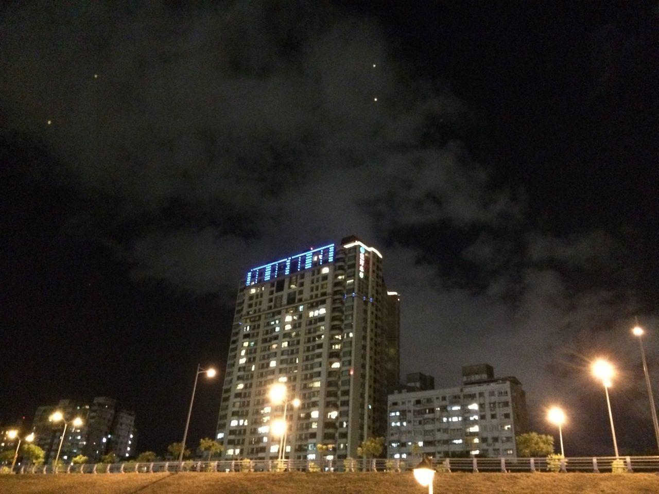 散步 Walking Night Lights Building Relaxing