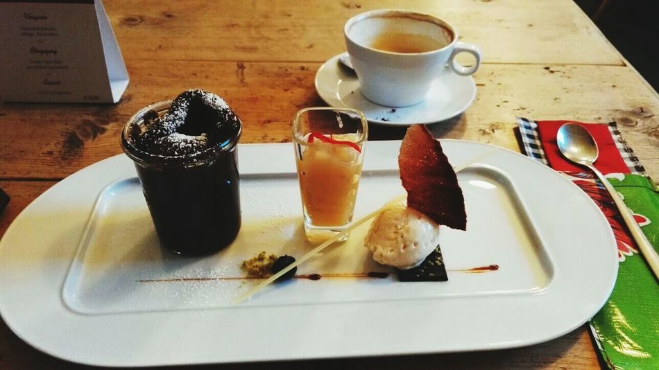 Dessert Sweet Food Indoors  Food And Drink Coffee Time Coffee Table Plate Drink Day Sweet