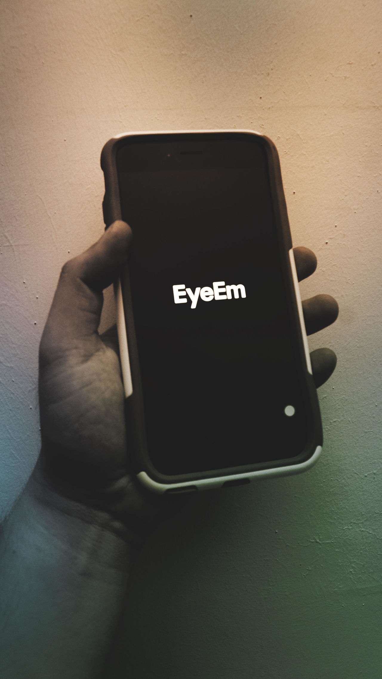 Humans meets technology - everything is at the tip of your finger. Close-up Day EyeEm EyeEm Best Shots Eyeem Collection Faded Fresh On Eyeem  Hand Human Humans Meets Technology IPhone Iphone 6 Plus IPhoneography Modern Modern Wonders No People Showing Imperfection Smartphone Smartphonephotography Story Telling Technology The Week Of Eyeem Wireless Technology
