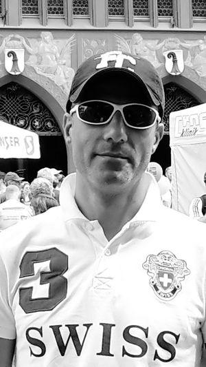 Swiss Swiss One Person Portrait Poloshirt Cap