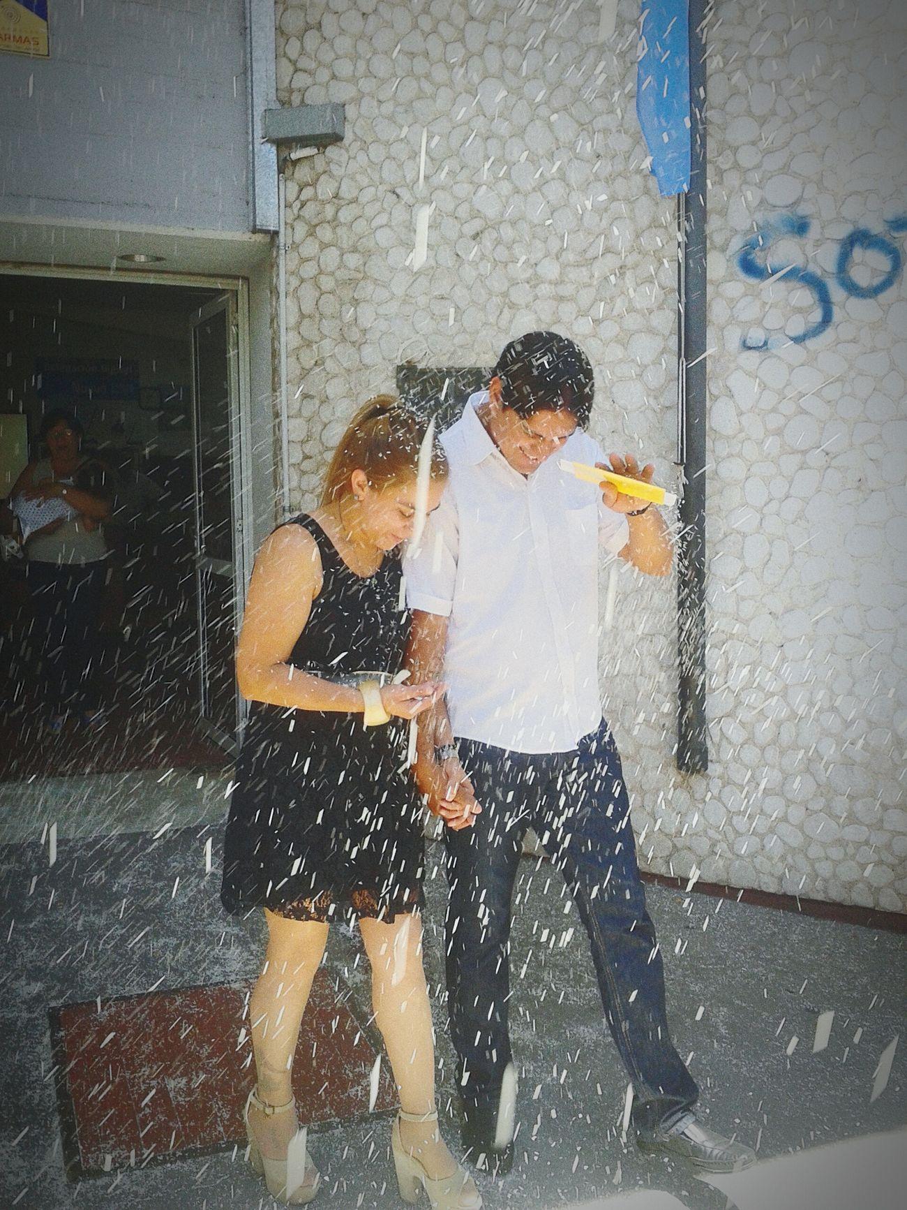 Lluvia de arroz para los recien casados ? ❤ Taking Photos Enjoying Life Hello World Inspiración.