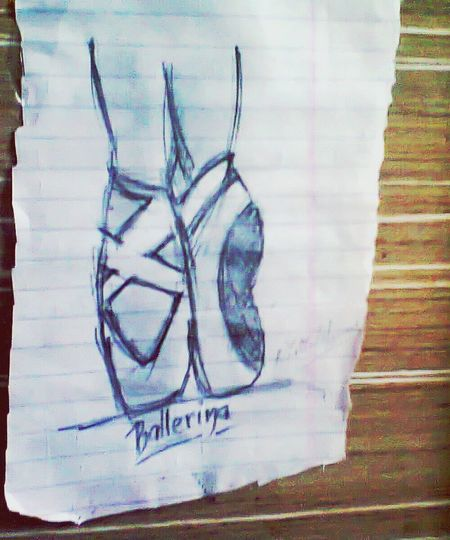 About To Do My Sketches. My Sketches Drawing Ballet