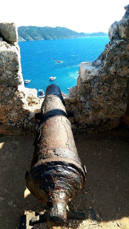 Cannon Castle Mediterranean  Sea Summer Summer ☀ Simena Antalya
