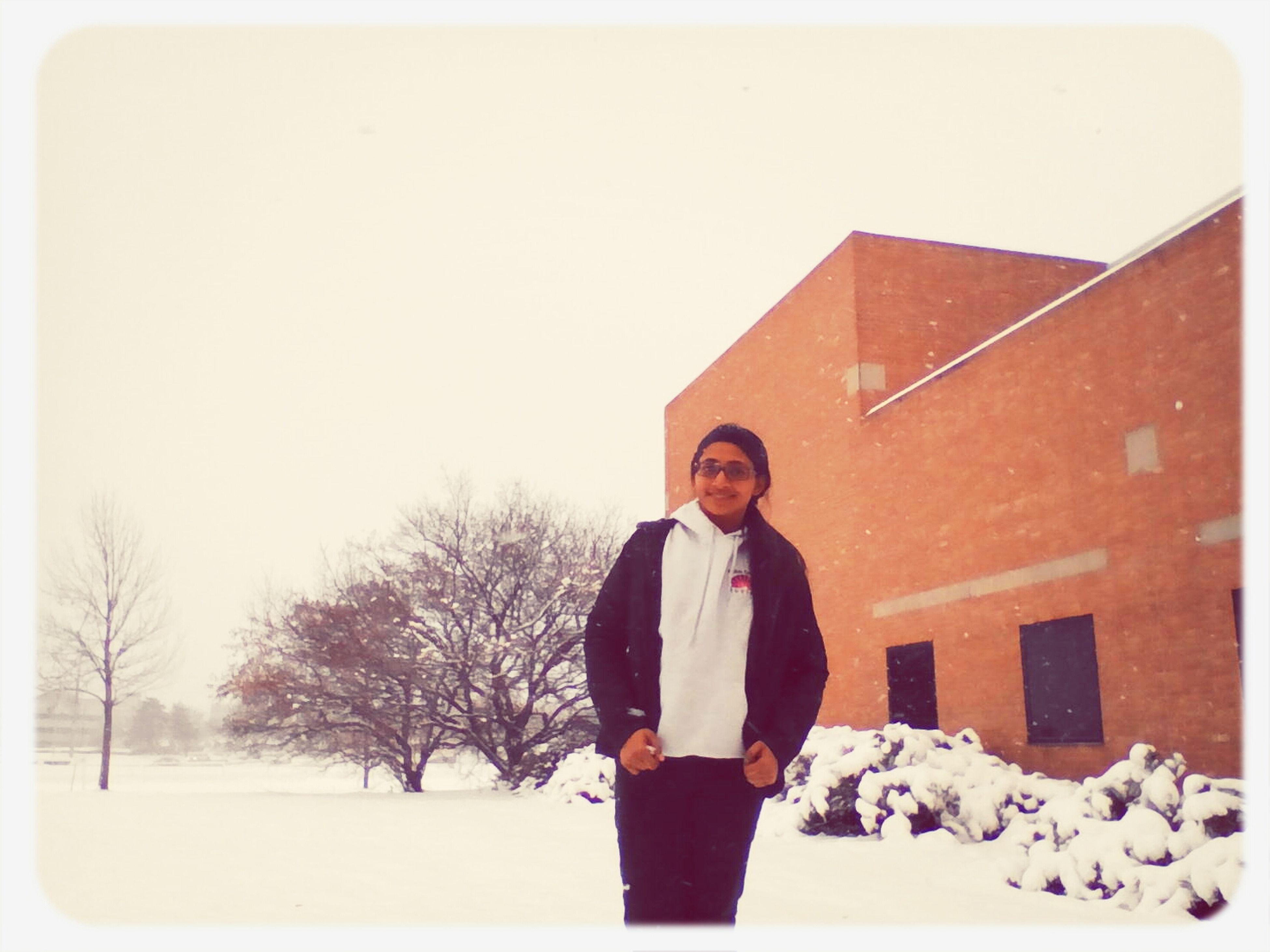 Winter Ohio Wrightstate Dayton #snow First Eyeem Photo