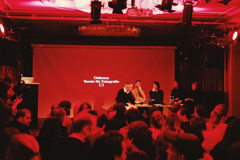 Gen talking at Ostkreuz Verein für Fotografie!