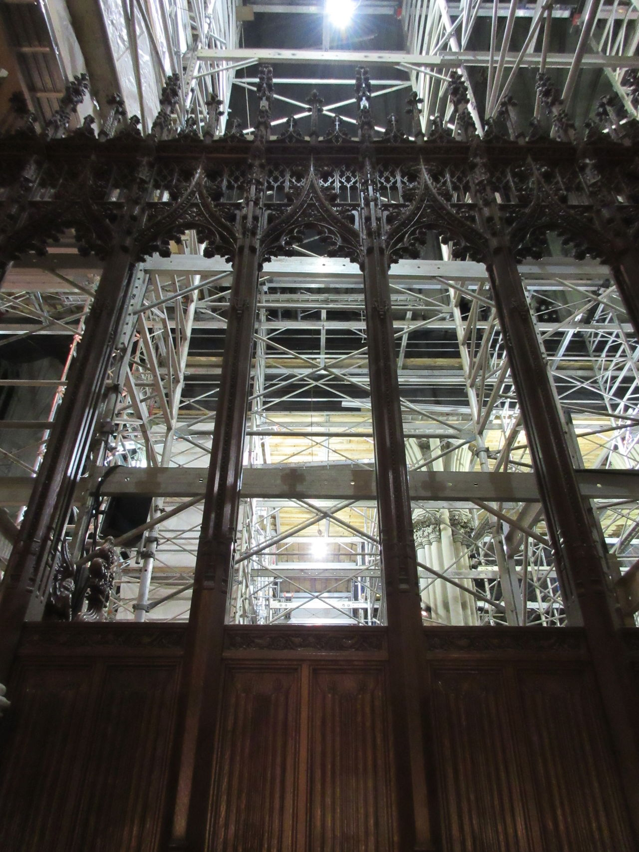 Architecture Built Structure Construction Day Indoors  Low Angle View No People Sky